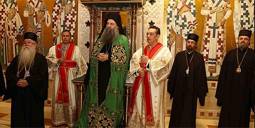 Устоличен патријарх Порфирије