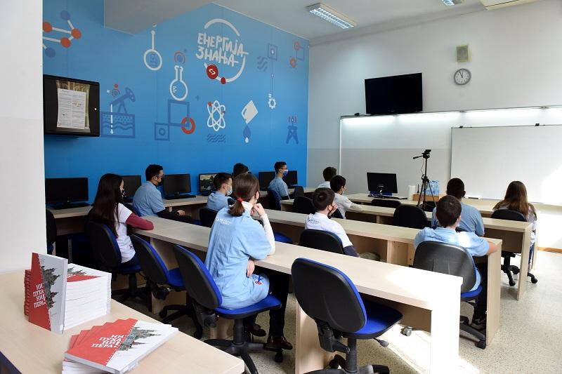 Нови кабинет за информатику у Математичкој гимназији, уз подршку НИС-а