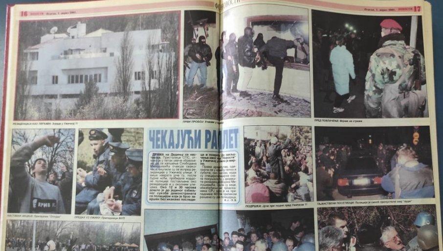 Из минута у минут: Овако се одвијала драма у Ужичкој улици пре хапшења Слободана Милошевића