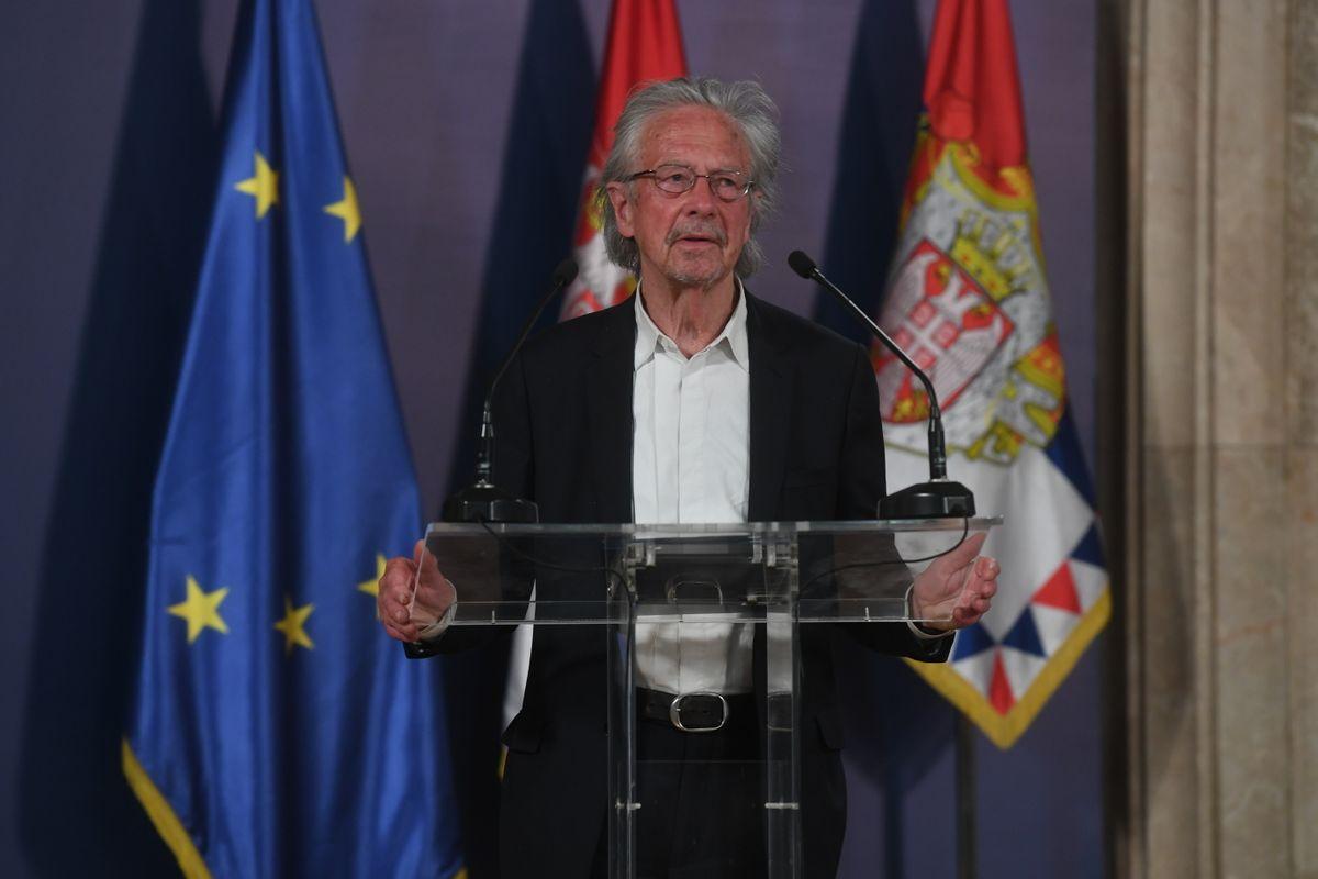 Хандке: Kада помислим на Србију, увек помислим на фреску Белог анђела