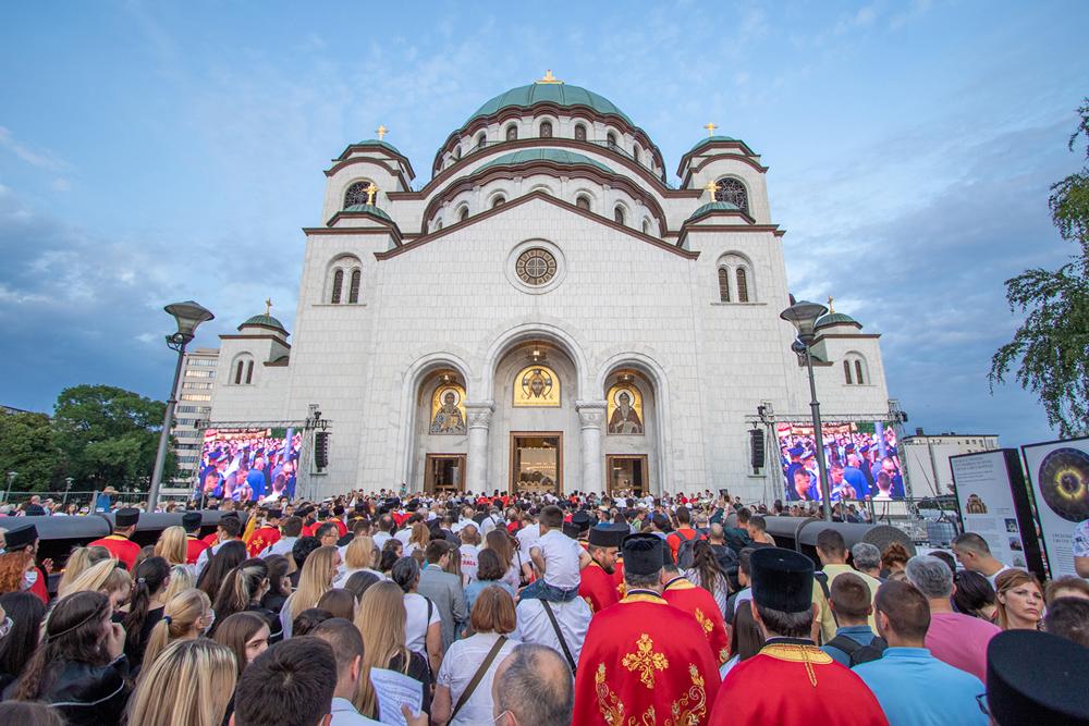 Patrijarh se zahvalio učesnicima Spasovdanske litije