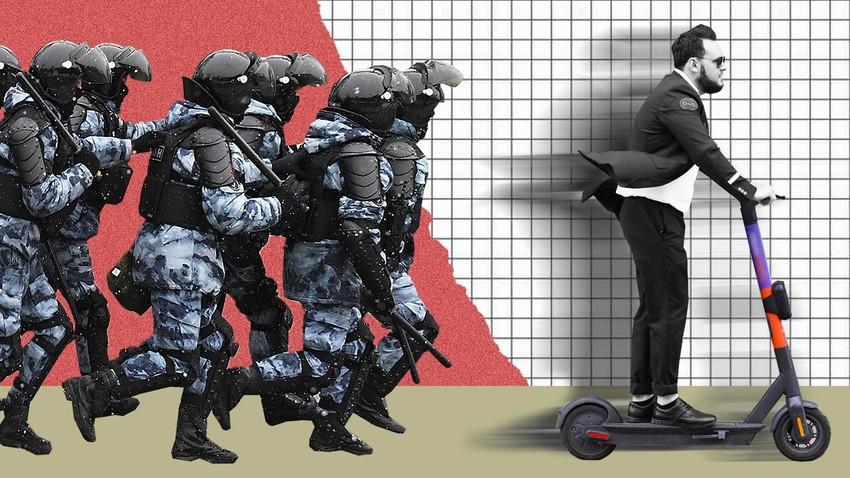 Русија објавила рат електричним тротинетима. Ко ће победити?