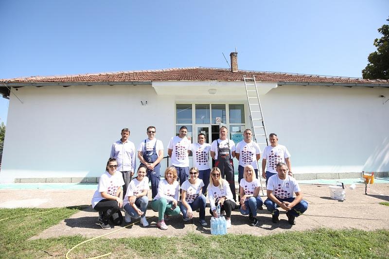 Ulepšana Osnovna škola u Vrdniku: Klub volontera NIS-a nastavio sa podrškom najmlađim sugrađanima