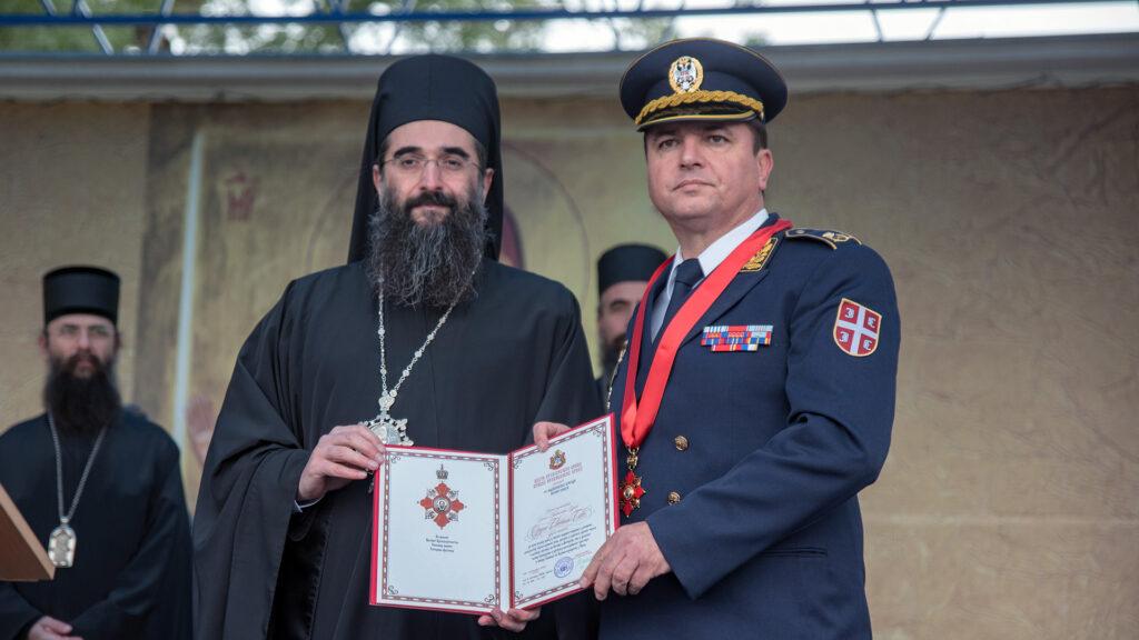 Sinod SPC odlikovao 63. Padobransku brigadu ordenom Svetog Save drugog reda