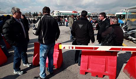 24-сатни штрајк јавног превоза у Грчкој