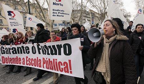 У Португалу протести због смањења буџета