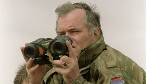 Командант Ратко Младић - Хаг уживо