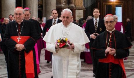 Нови римски папа одржао своју прву мису