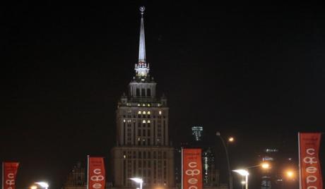 Кремљ без осветљења