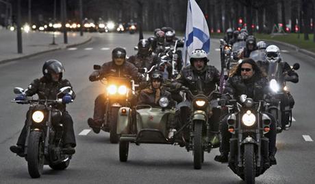 """Руски """"Ноћни вукови"""" се спремају да марширају на Дрини"""