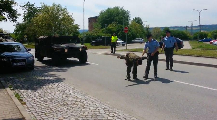 Чешки ветеран задњицом против НАТО-а