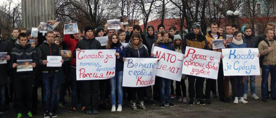 У Луганску одржан помен жртвама НАТО Агресије на СР Југославију