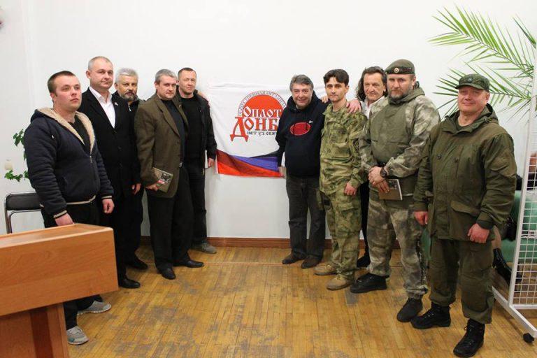Мајор Војске ДНР Дејан Берић представио своју књигу у Доњецку