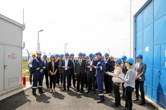"""Почело са радом постројење за производњу и велепродају компримованог природног гаса на гасном пољу """"Острово"""""""