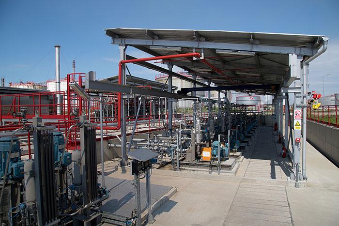 Најмодернији дигитални систем за намешавање бензина  у Рафинерији нафте у Панчеву