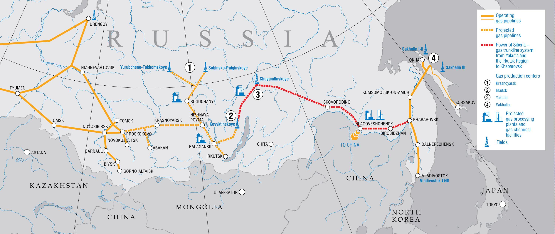 """""""Гаспром"""" ће инвестирати 12,7 милијарди евра у изградњу гасовода """"Снага Сибира"""""""