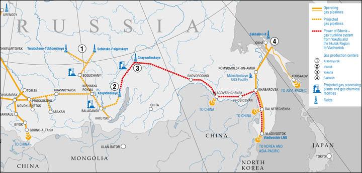 """Испоруке гаса кроз """"Силу Сибира"""" у Кину почеће 20. децембра 2019. године"""