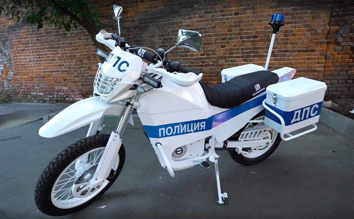 «Kalašnjikov» predstavio električni motocikl