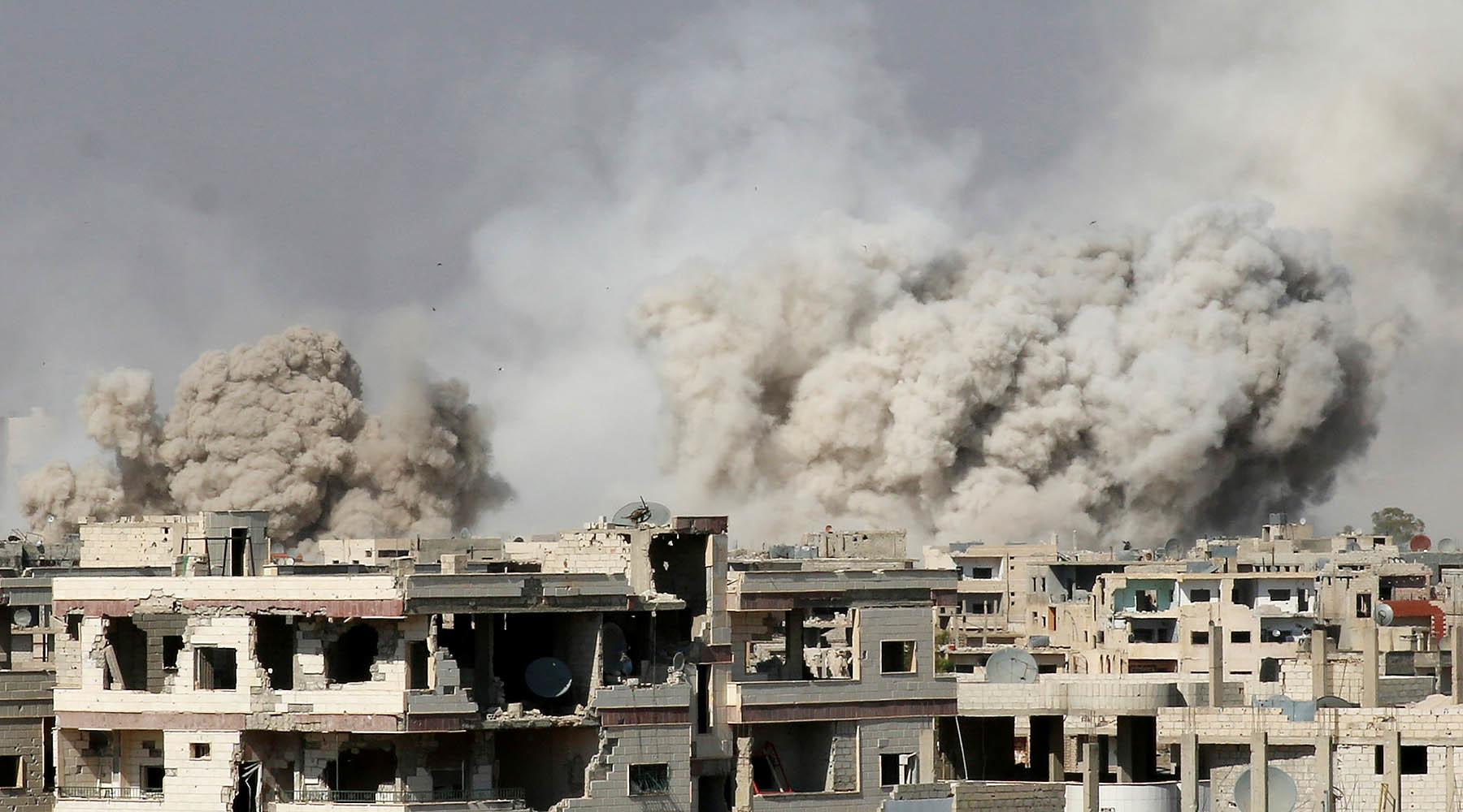 Штета од бомбардовања Сирије од стране коалиције САД минимално 2,5 милијарди долара