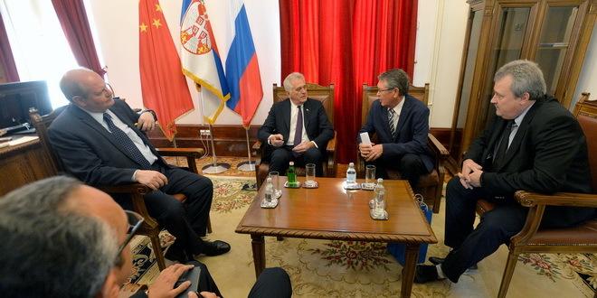 Чепурин и Николић разговарали о унапређењу економских односа