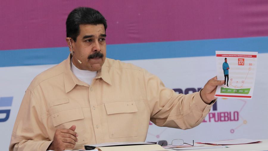 """РТ: Венецуела покреће крипто-валуту """"Петро"""" у борби против санкција САД"""