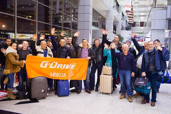 Добитници G-Drive поклон акције компаније НИС посетили Санкт-Петербург