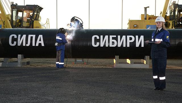 """""""Гаспром"""" изградио више од 1.520 километара гасовода """"Снага Сибира"""""""