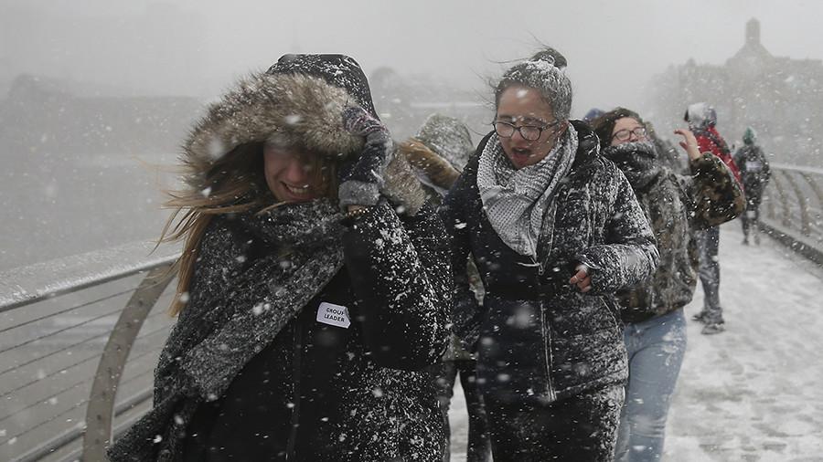 РТ: Русија испоручује још гаса Лондону како би ублажила несташицу због хладног времена