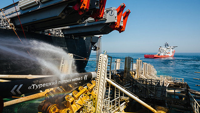 """Завршена изградња морског дела првог крака """"Турског тока"""""""