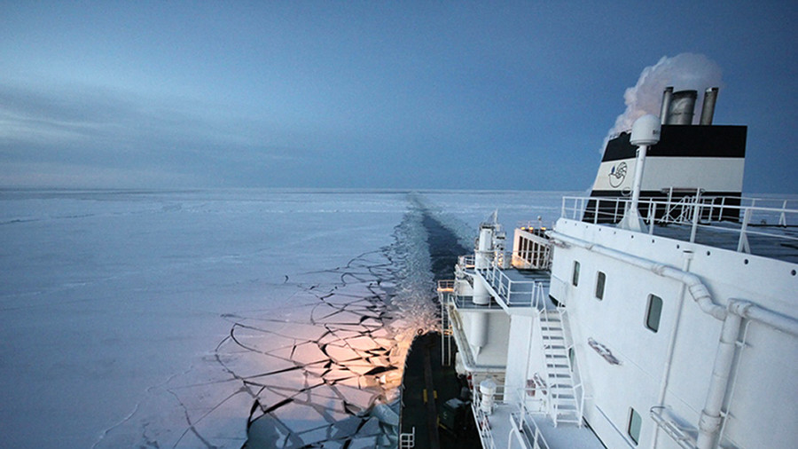 """РТ: Француски """"Тотал"""" се придружио руском пројекту на Арктику вредном 25 милијарди долара"""
