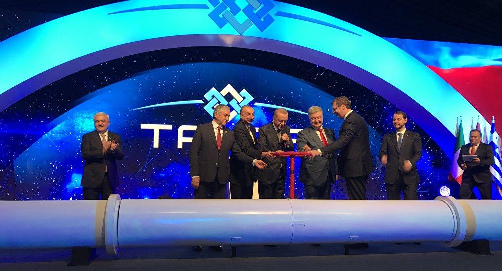 У Турској отворен Трансанадолијски гасовод