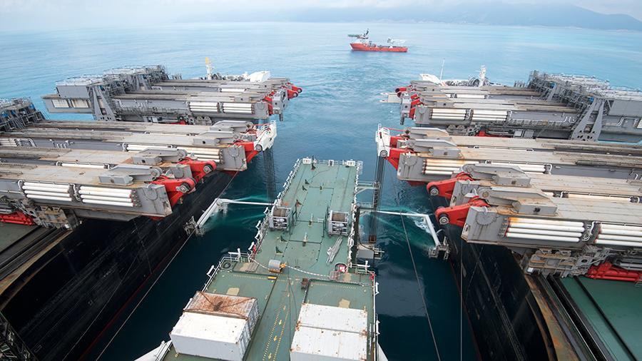 """""""Гаспром"""" изградио 66% морске деонице """"Турског тока"""""""