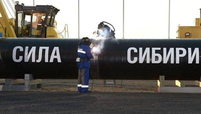 """""""Гаспром"""" изградио више од 90% гасовода """"Снага Сибира"""""""