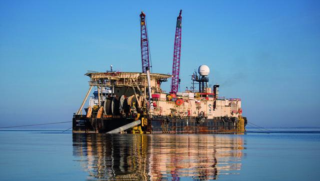 "Други брод за постављање цеви почео да ради на немачкој деоници гасовода ""Северни ток 2"""