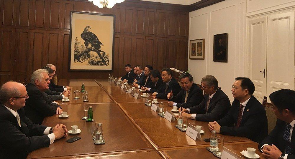 Николић и делегација кинеског града Нантонг разговарали о новим пројектима