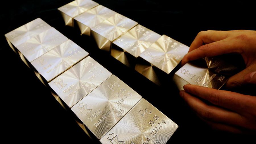 РТ: Злато губи свој сјај јер цене паладијума расту. Зашто се Русија смеши?