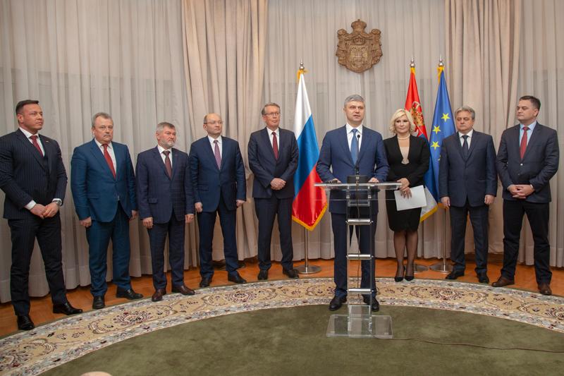 """Република Србија и """"Руске железнице"""" имају намеру да прошире сарадњу"""