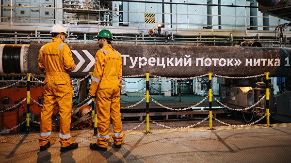 """""""Гаспром"""" резервисао капацитете гасовода за гас од Турске до Србије"""