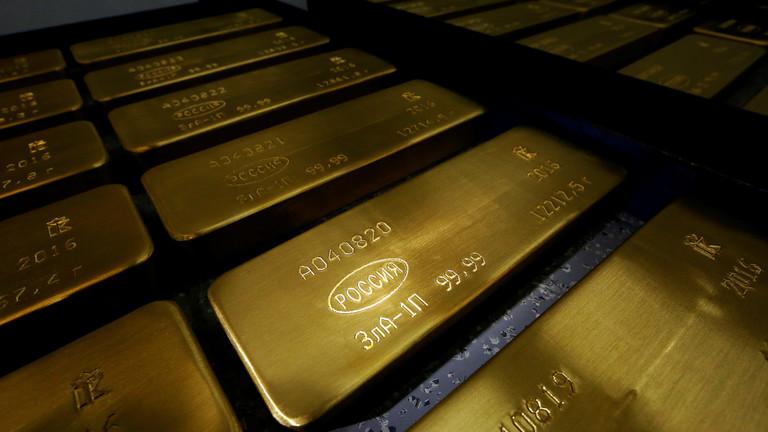 РТ: Русија купује највише злата како би смањила зависност од америчког долара