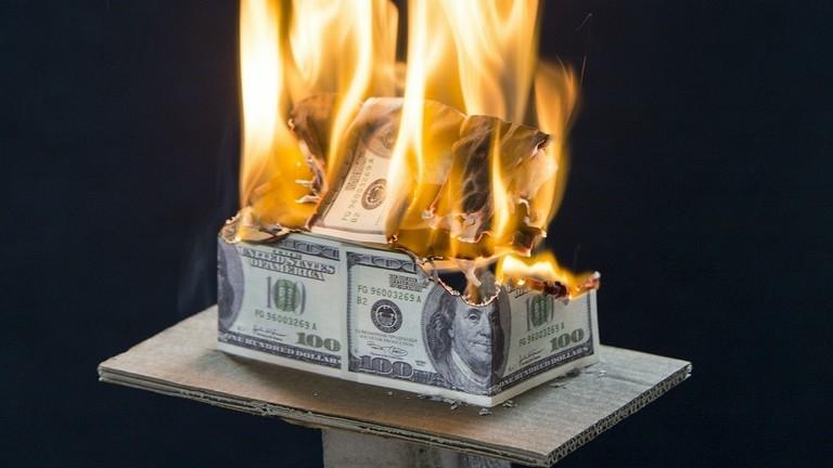 РТ: Историјски: Државни дуг САД прешао 22 билиона долара