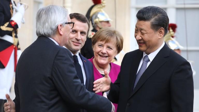 РТ: Немачка жели да се Европа прикључи новом кинеском Путу свиле, након што је критиковала Италију што је учинила исто