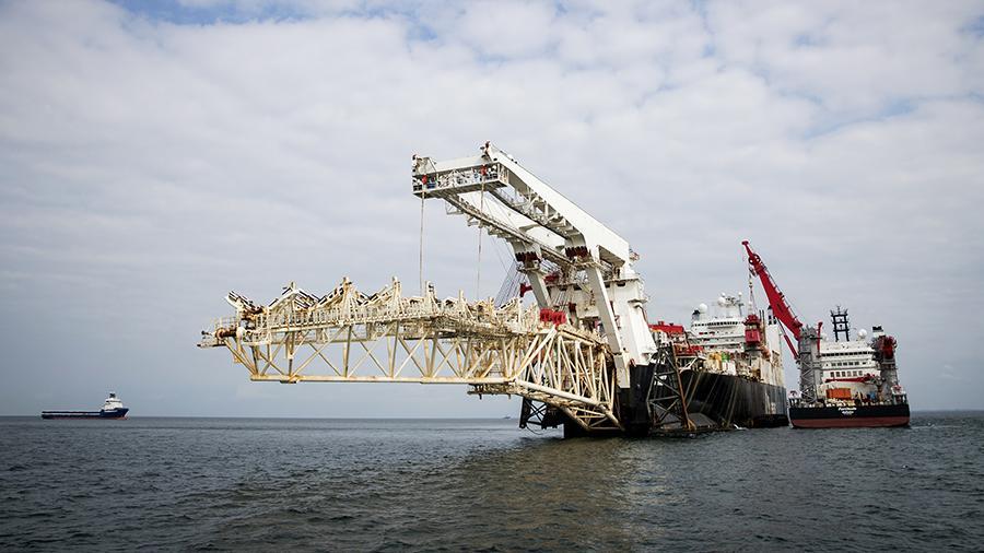 """""""Гаспром"""" положио 1.025 километара цеви """"Северног тока 2"""""""