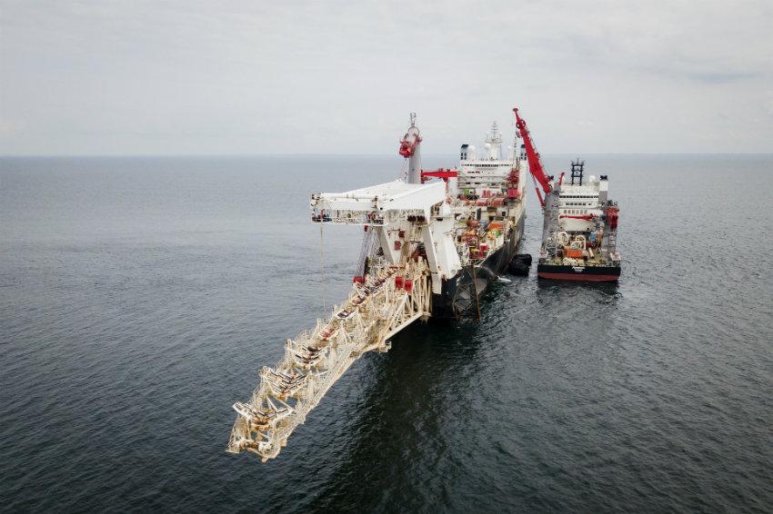 """""""Гаспром"""" положио више од 1170 километара цеви гасовода """"Северни ток 2"""""""