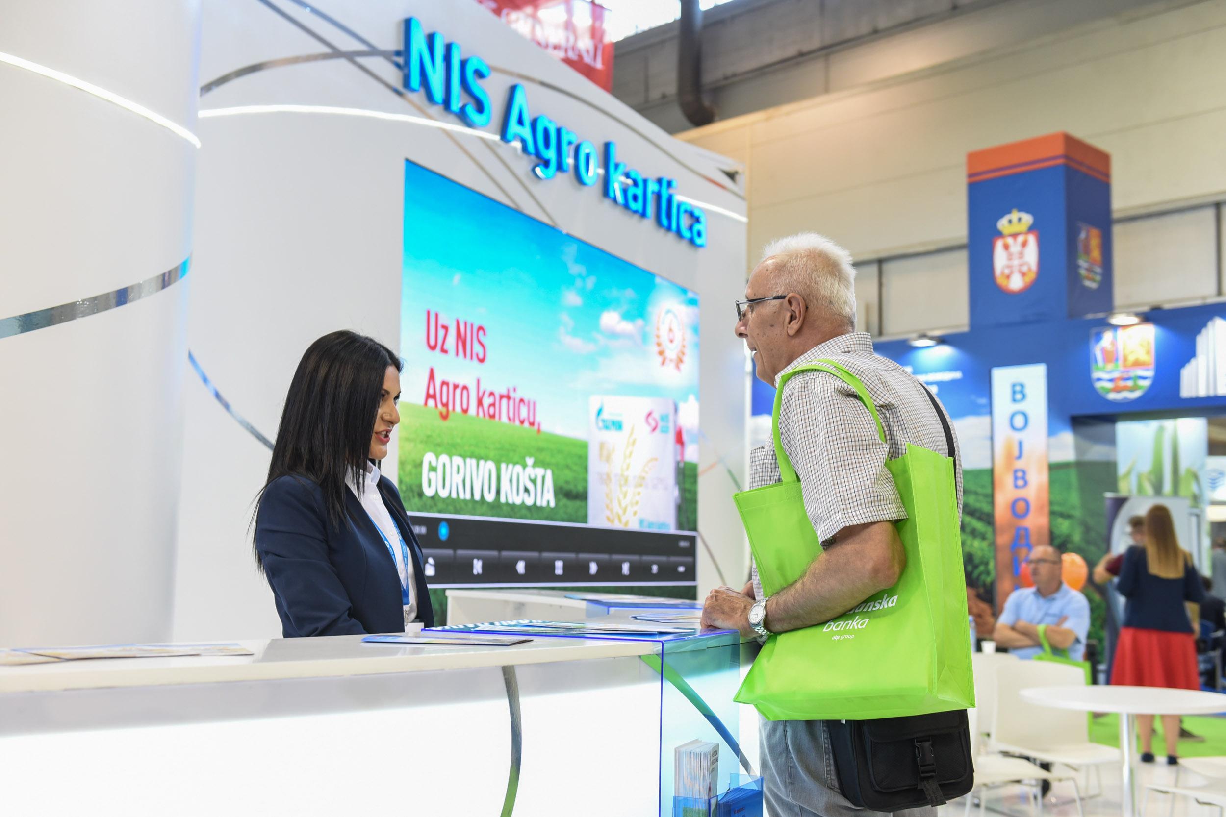 NIS na Međunarodnom poljoprivrednom sajmu u Novom Sadu