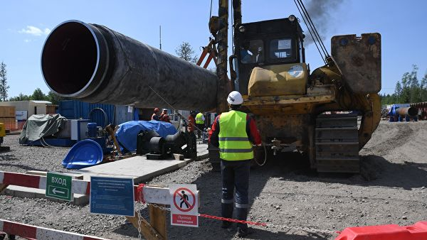 "Položeno 71 posto cevi gasovoda ""Severni tok 2"""