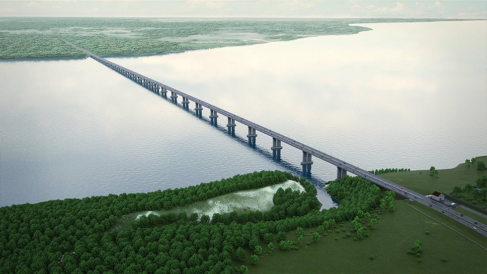 РТ: Русија ће изградити мост у вредности од 1,6 милијарди евра као део трасе која повезује Европу и западну Кину