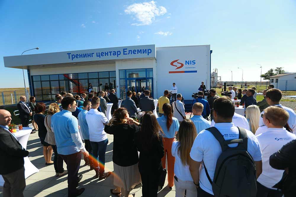 НИС у Елемиру отворио најсавременији тренинг центар у региону за обуку нафташа