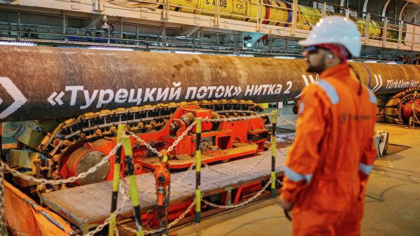 """Холандија запленила акције компаније која гради """"Турски ток"""""""