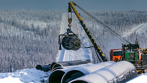 """Пуштање у рад гасовода """"Снага Сибира"""" следећег месеца"""
