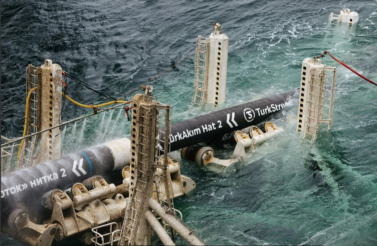 """Пуштање у рад гасовода """"Турски ток"""" 8. јануара"""
